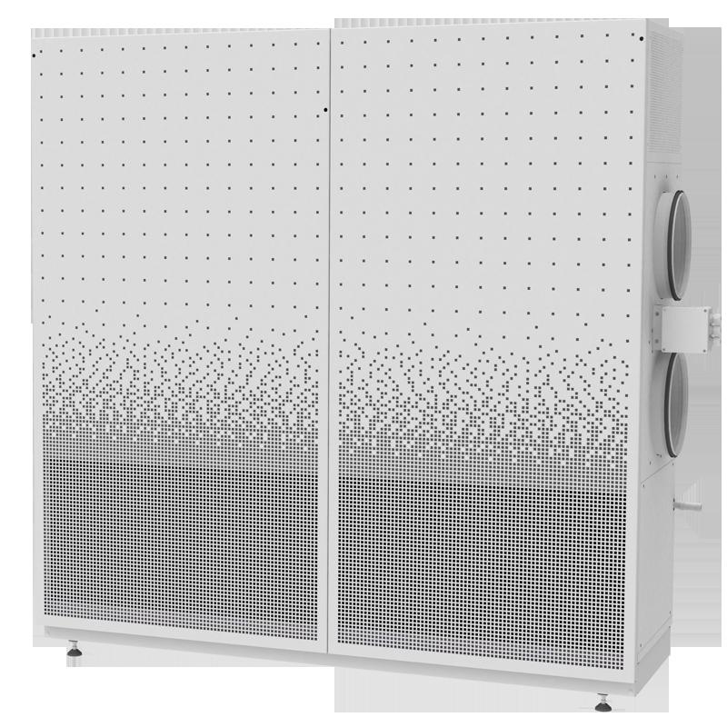Kompaktlüftungsgerät SupraBox DELUXE 750H